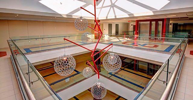 Bloom Lighting Group for Decarie Square in Montreal 👏 💡 💯  #interiorinspiration #interiorarchitect #interiordesign