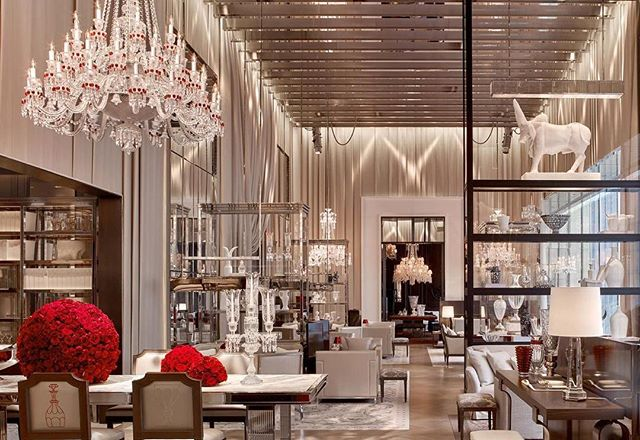 Does anyone want to meet for an afternoon tea at The Baccarat? #interiorinspiration #hightea #designenvy