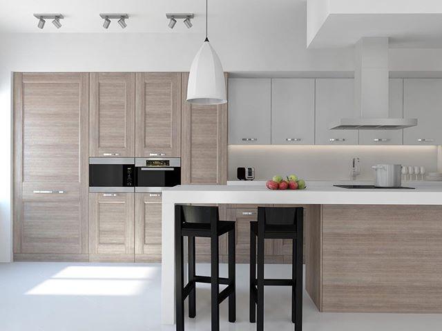 These custom cabinets by @mysemfim 👏 are stunning! #interiorinspiration #kitchendesign #kitchenenvy