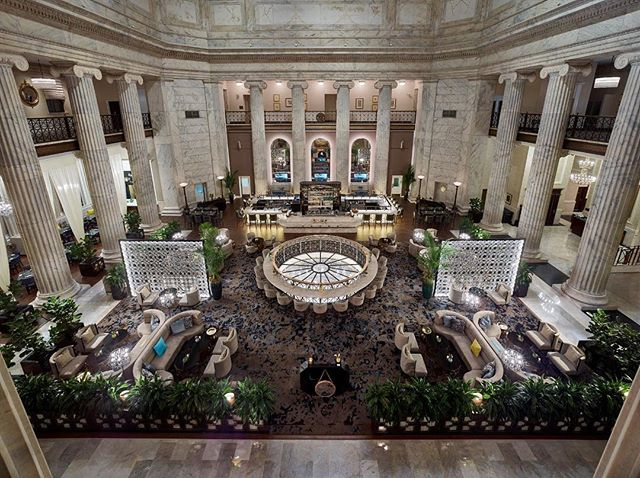 Firm: Coscia Moos Architecture + LW Design Group + Wimberly Interiors  Project: lobby and restaurant of the Ritz-Carlton Hotel in Philadelphia  Rating: ⭐️⭐️⭐️⭐️⭐️ #interiorinspiration #interiorarchitect #design