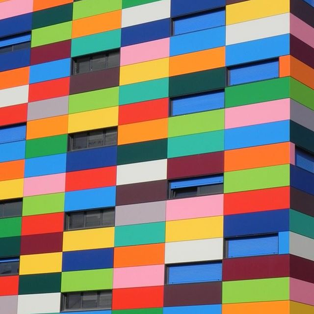 Colors from around the world.  TGIF. #architecture #colors_of_day