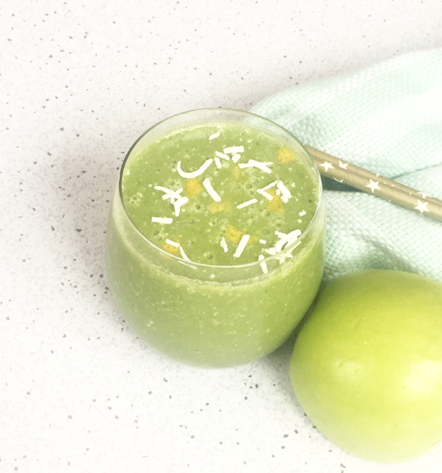 Sour Patch Green Apple Smoothie