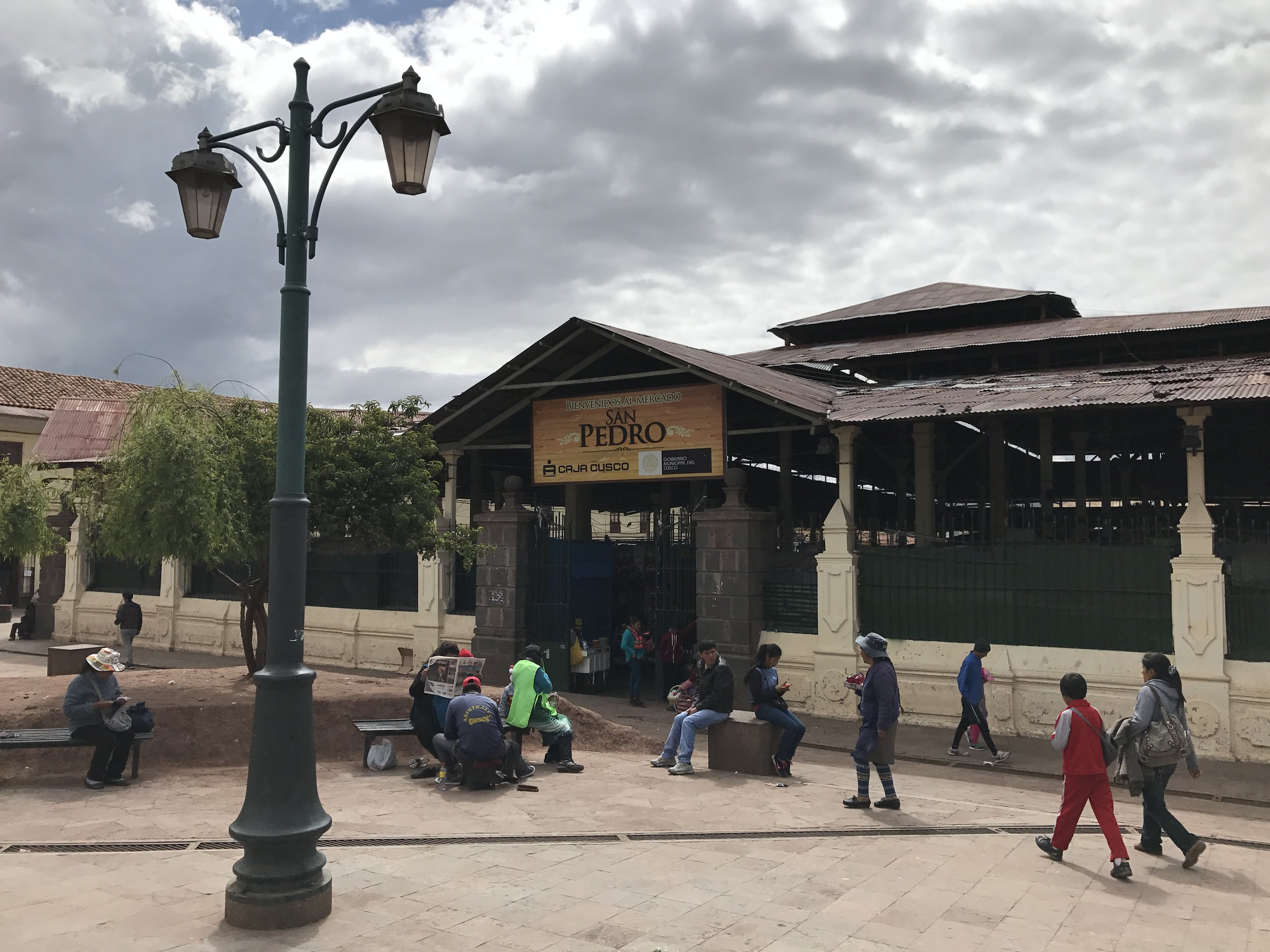 Mercado in Cusco.