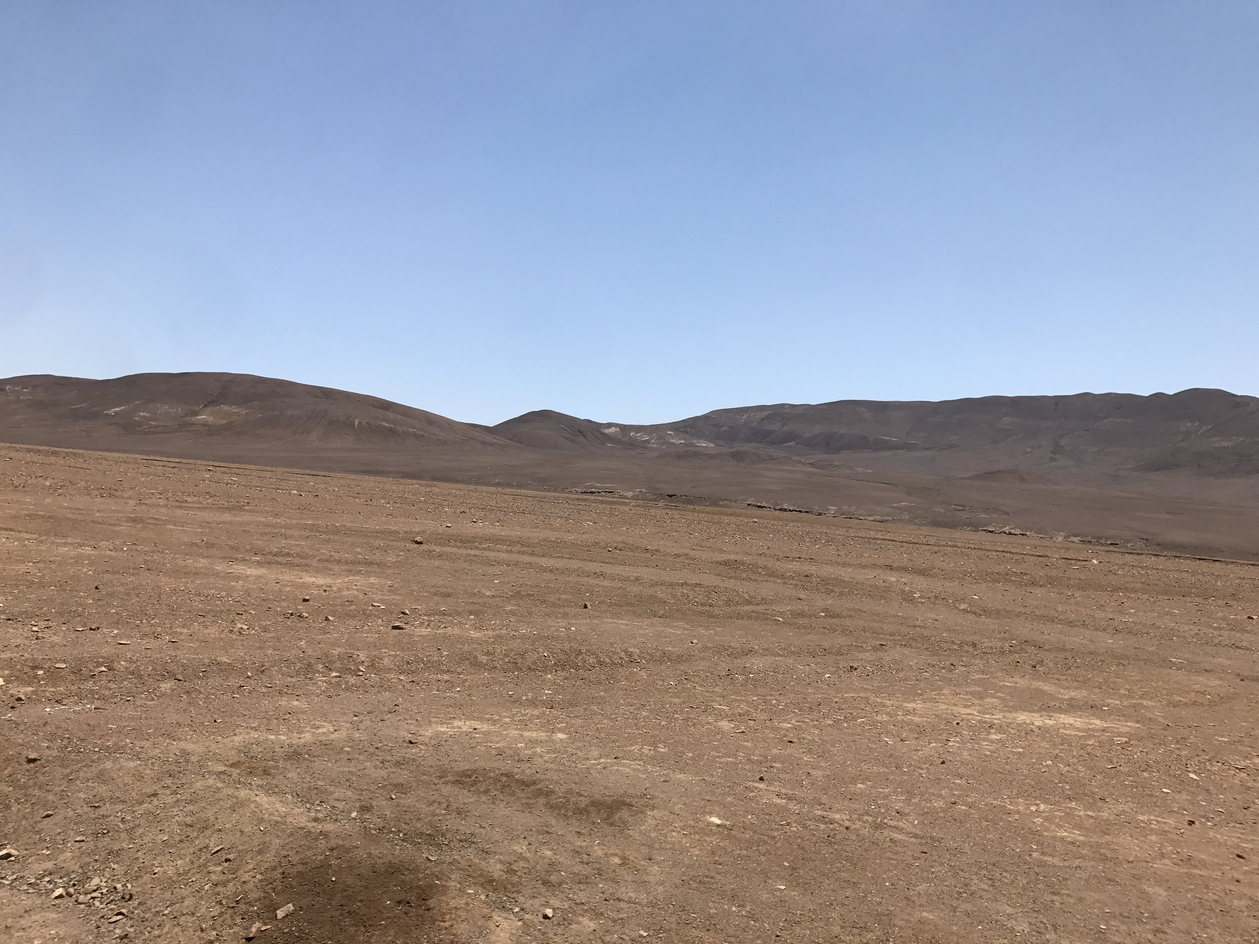 Parts of the Atacama desert look like the surface of Mars.