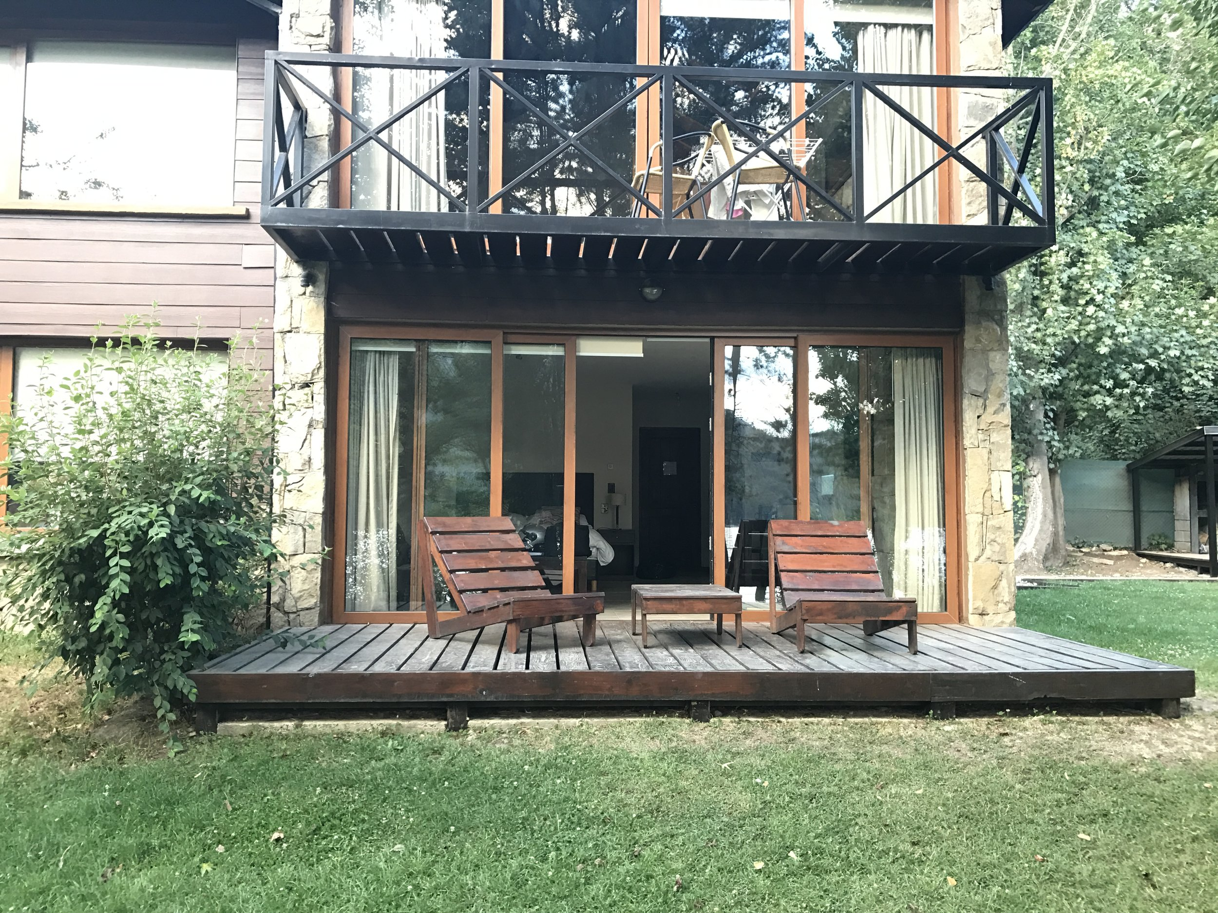 Our Airbnb in Bariloche.