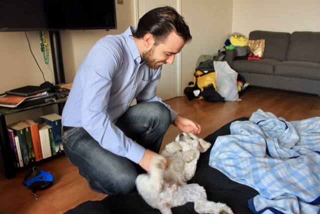 Suri thought Ernesto was a great host and the best bellyrub giver ever!