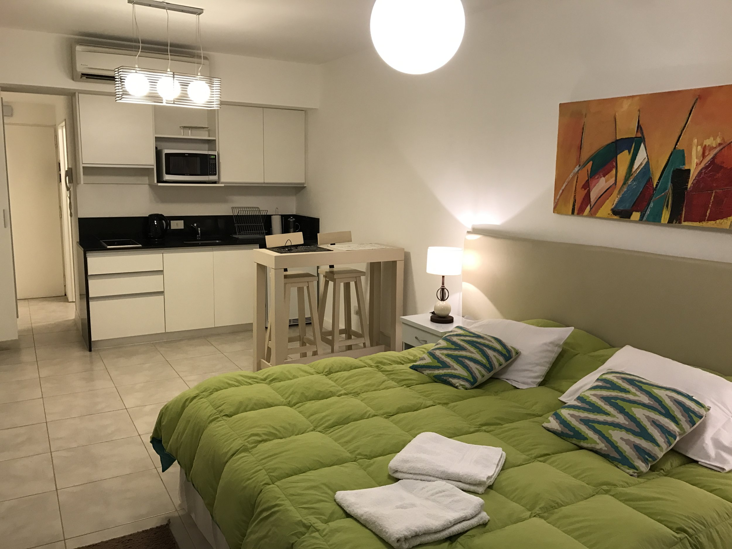 My studio apartment in Buenos Aires. Home for my last three weeks in South America.