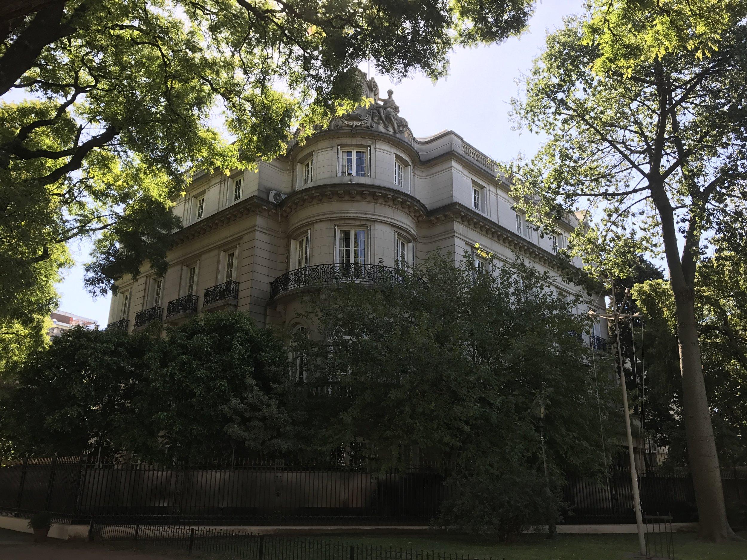 Spanish embassy.