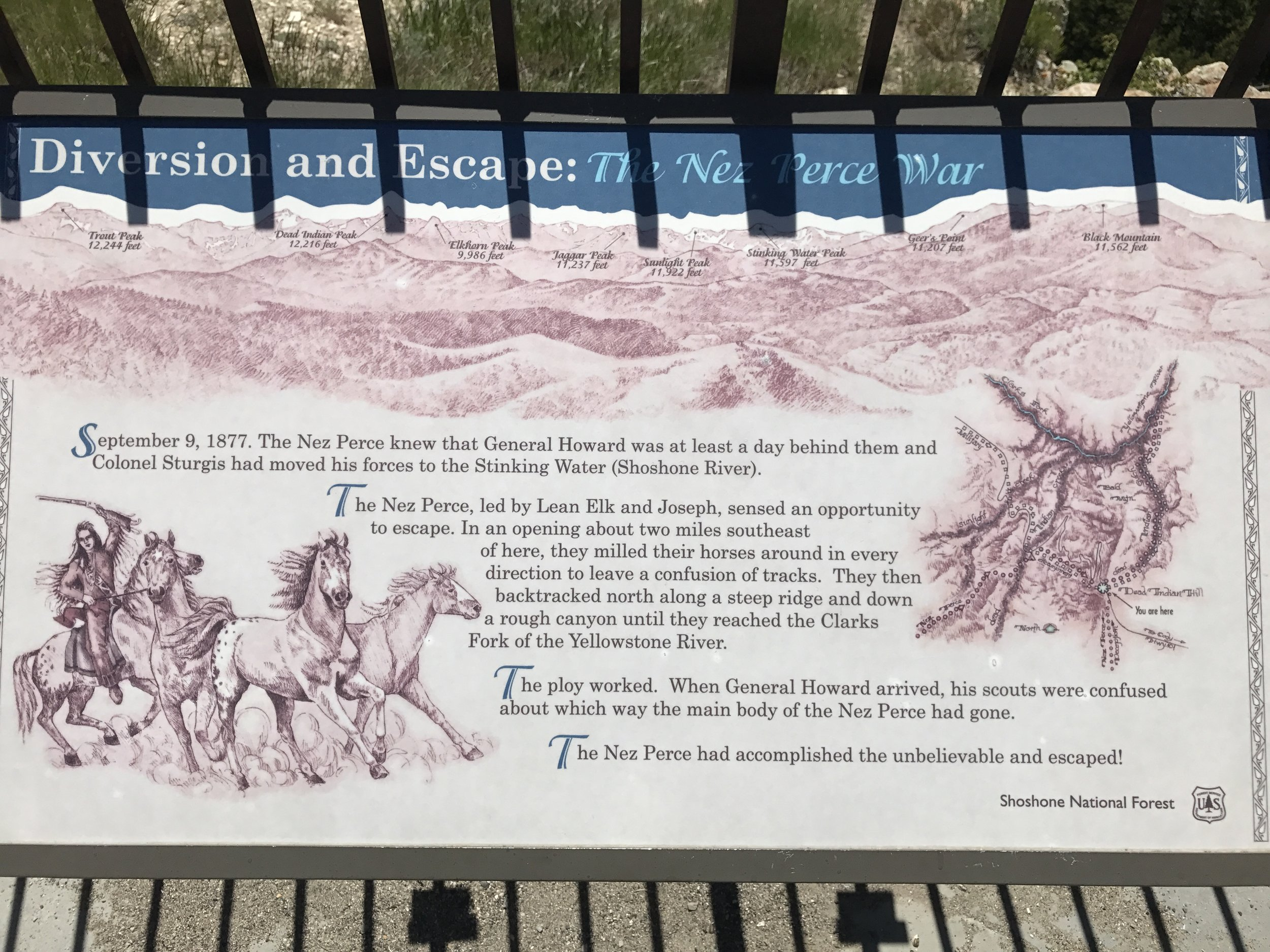 The region has great historical significant too.