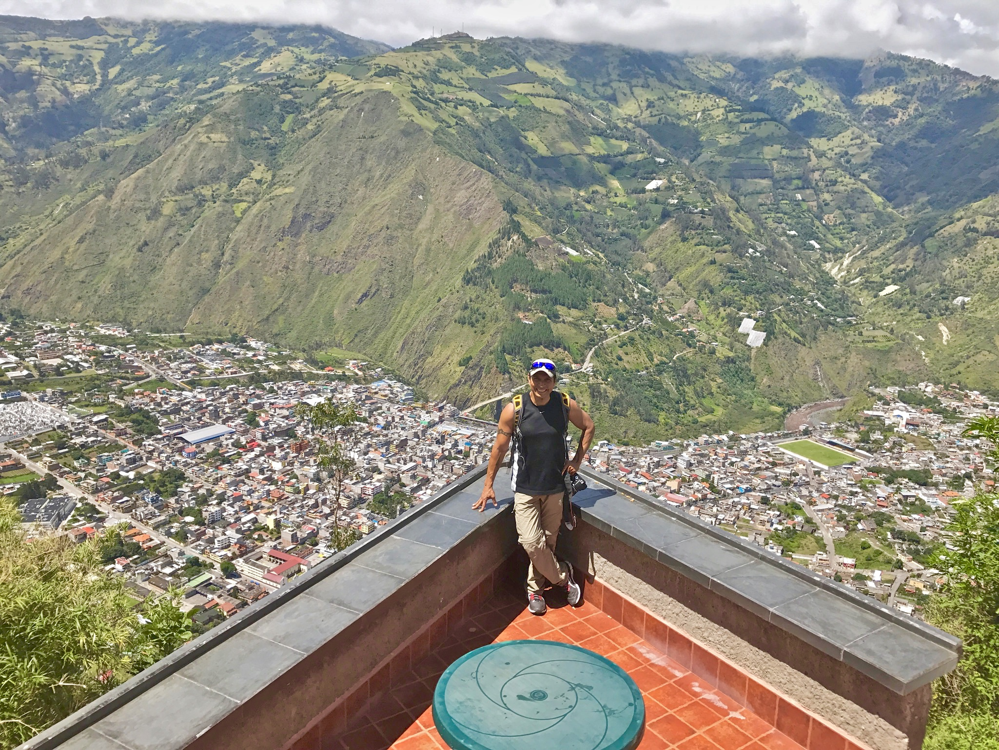Yes, there really is a Banos in Ecuador.