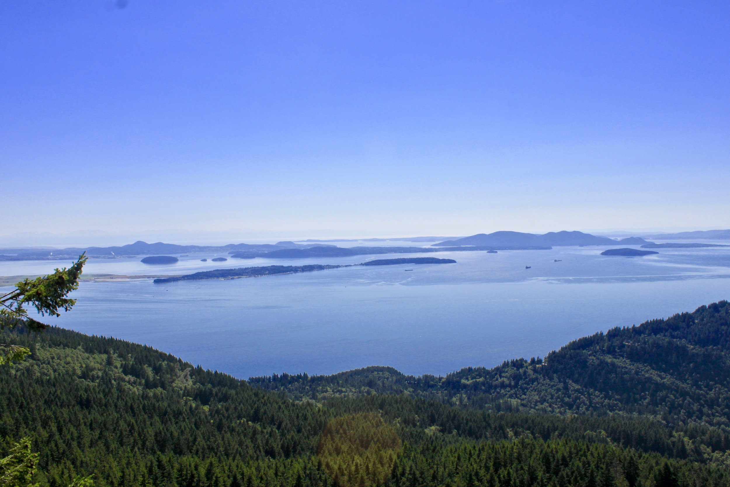 View at the top of Oyster Dome.