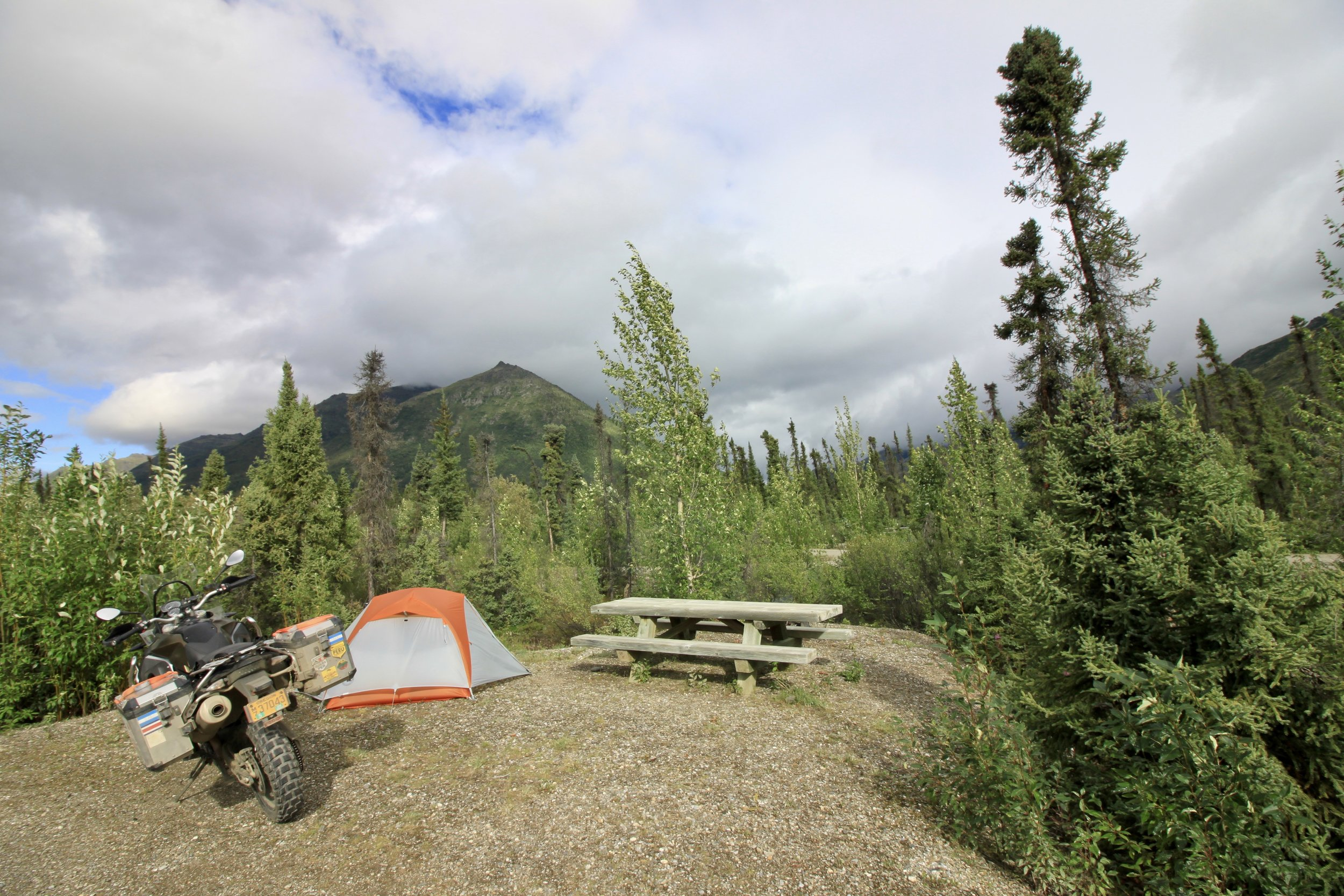 Marion Creek campground.