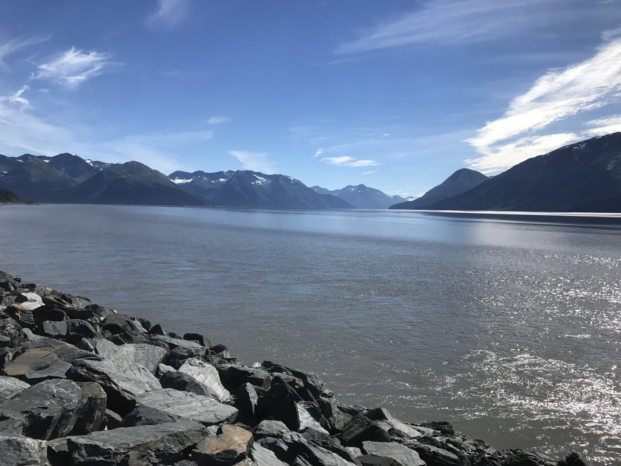 Along the road to Seward