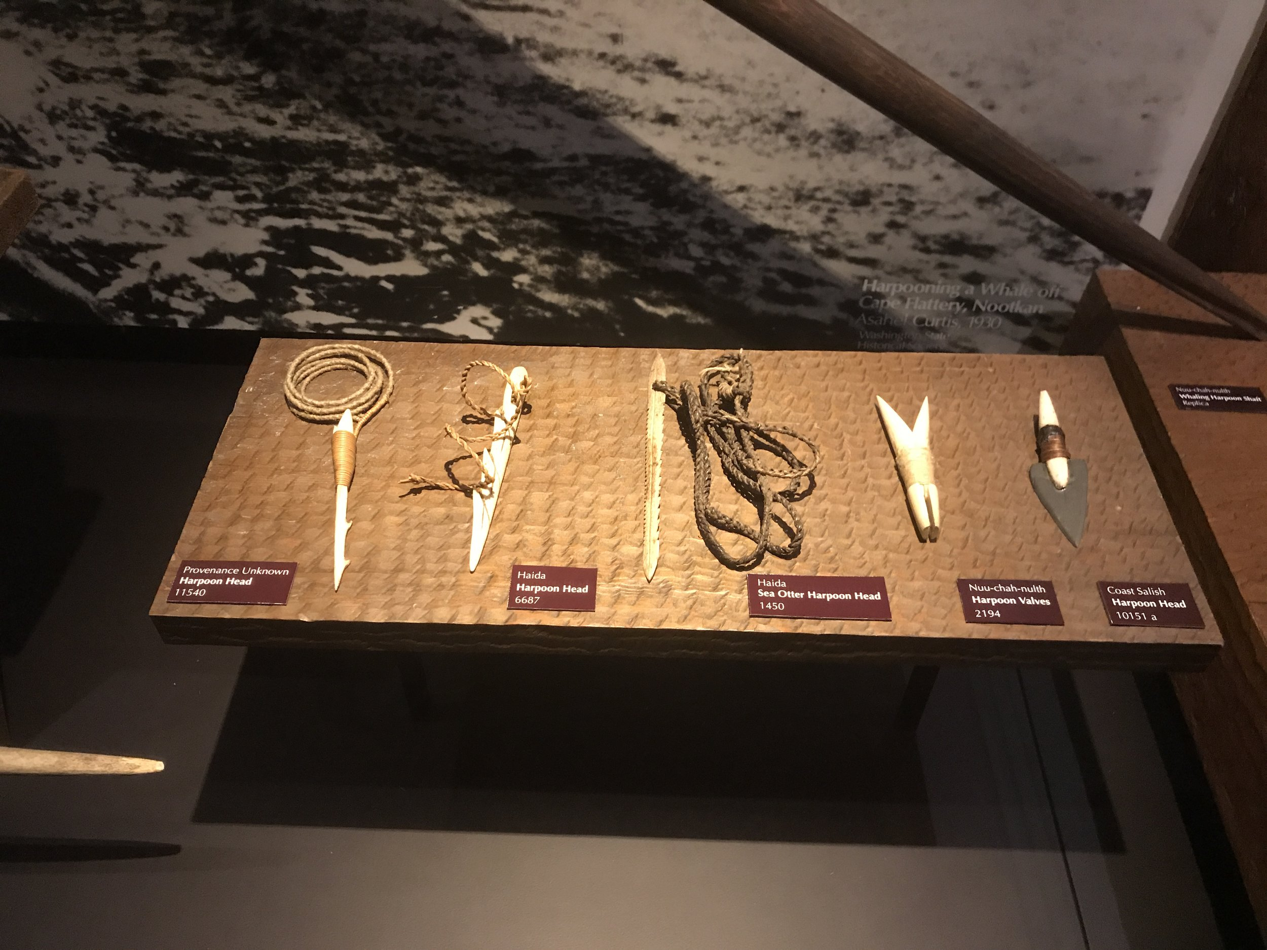 Tools used before Europeans arrived.