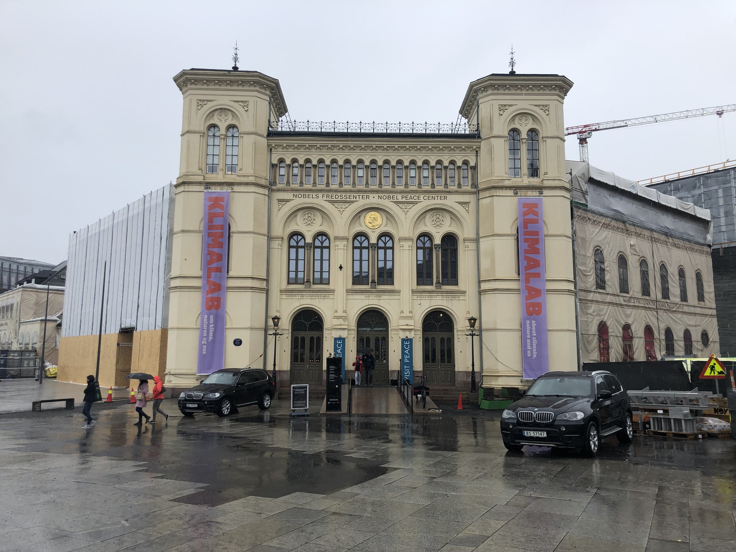 Exterior of the Nobel Peace Prize Center.