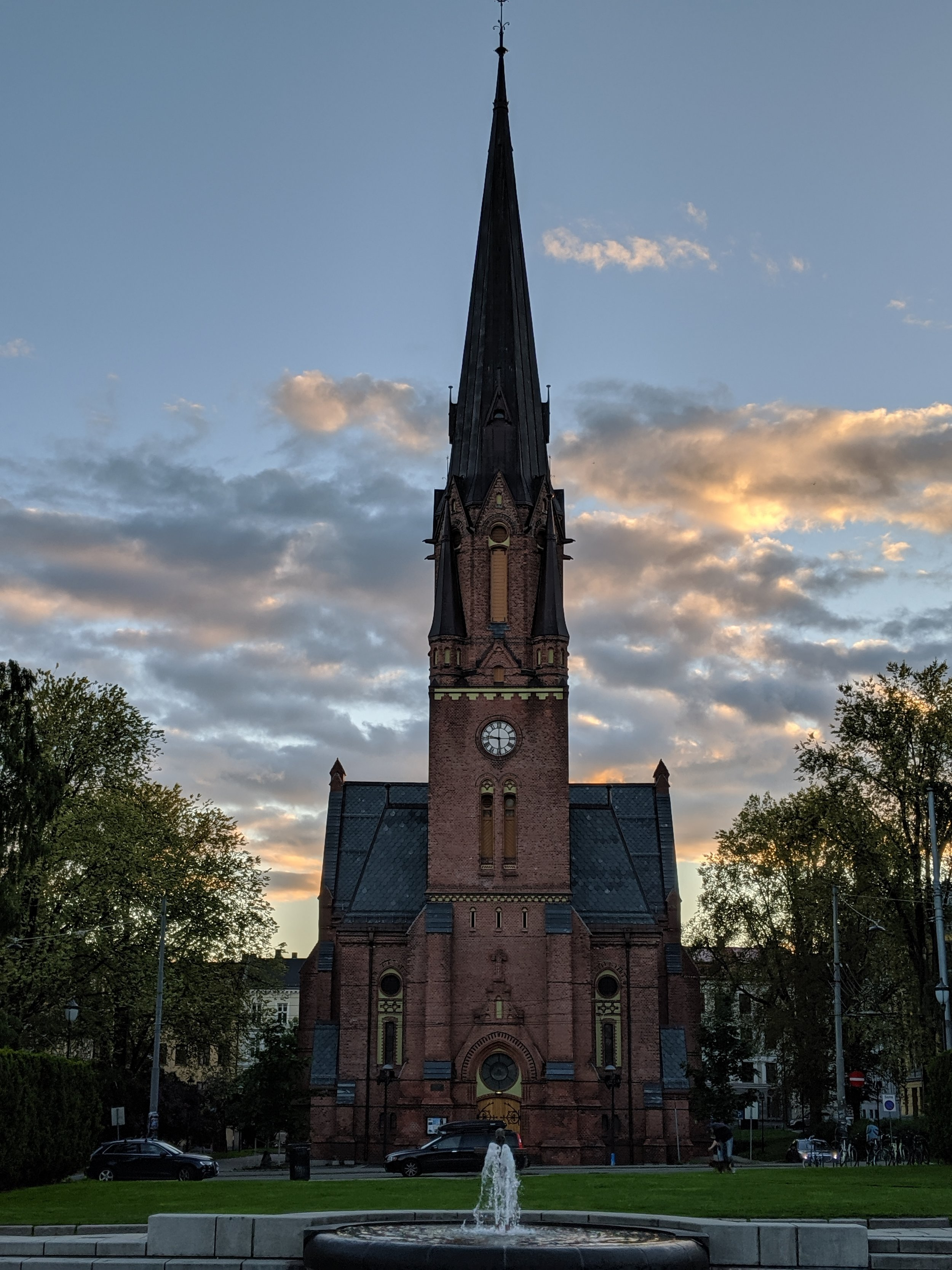 An old church near our AirBnB that Alena expertly photographed.