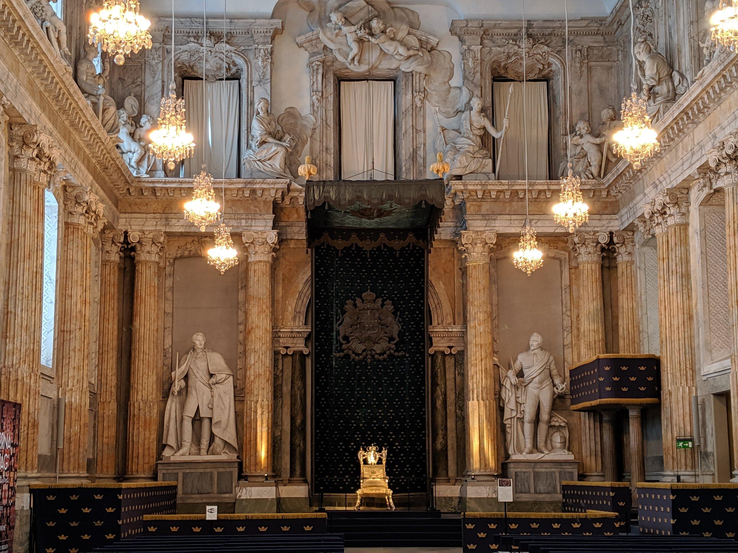 Swedish Royal Throne.
