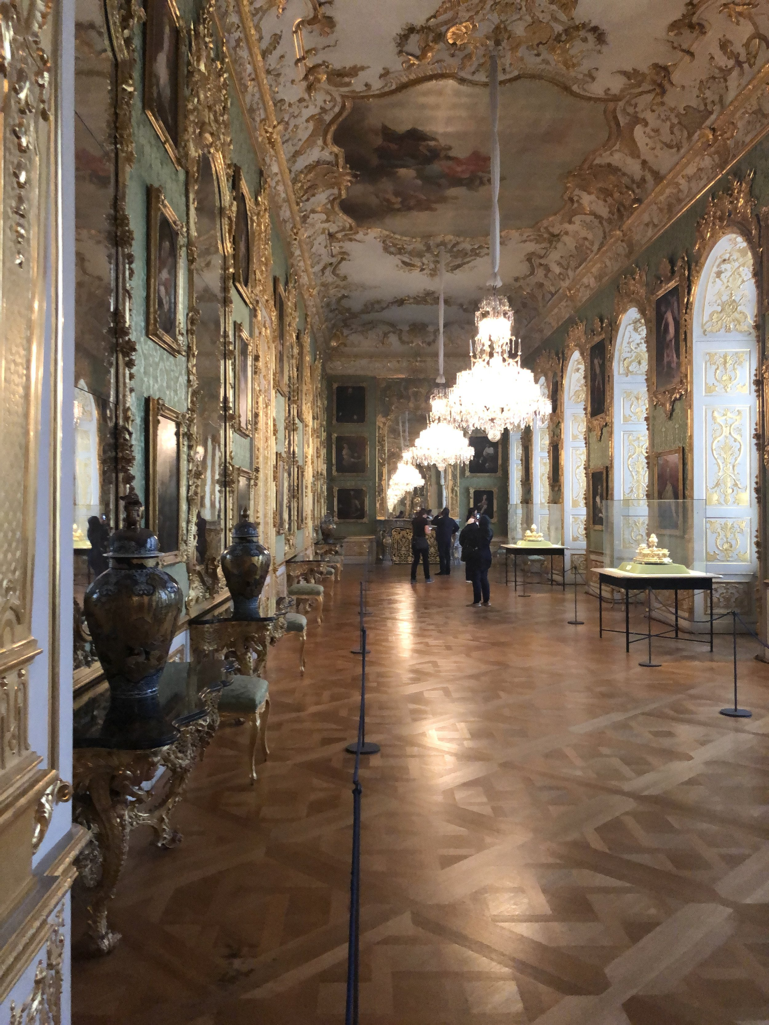 One of the many halls which were originally the home to the royal family.