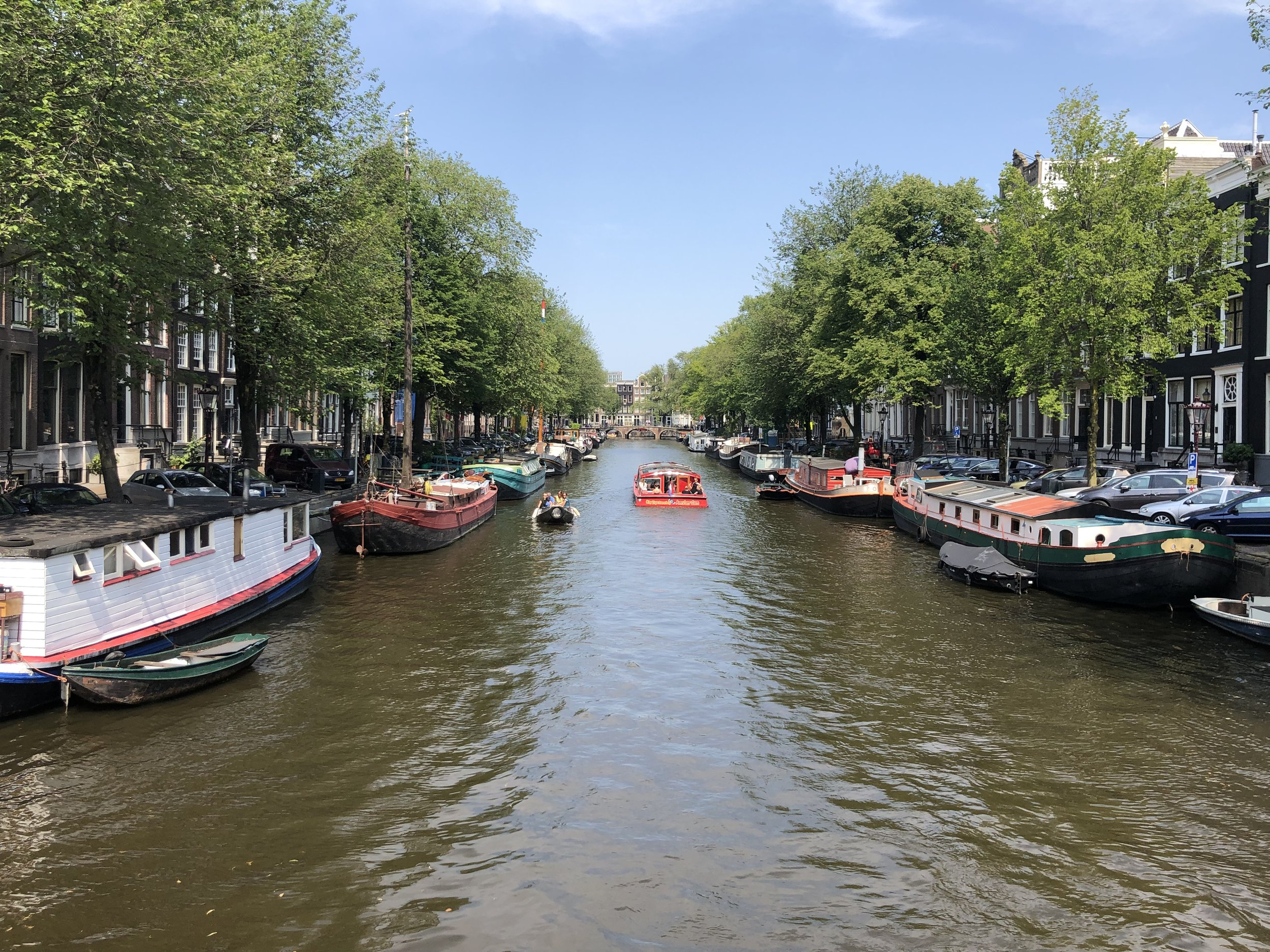 Like many places in Europe we could have spent lots more time in Amsterdam. It is a beautiful city.