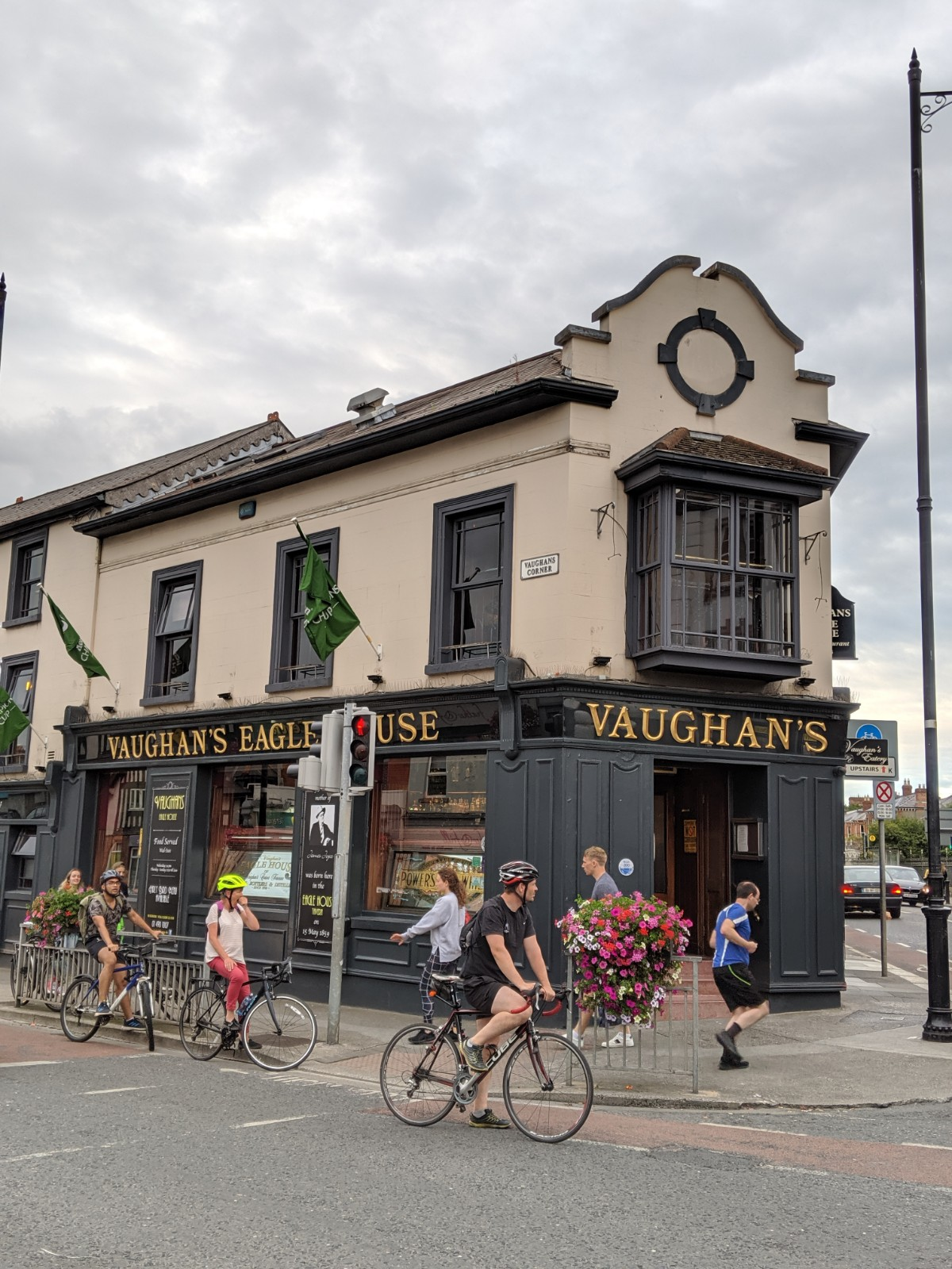 Vaughn's was one of the coolest pubs I visited while in Dublin. The bartender at Vaughn's introduced me to a local Irish Hooker. I couldn't help myself and succumbed to this earthly pleasure.