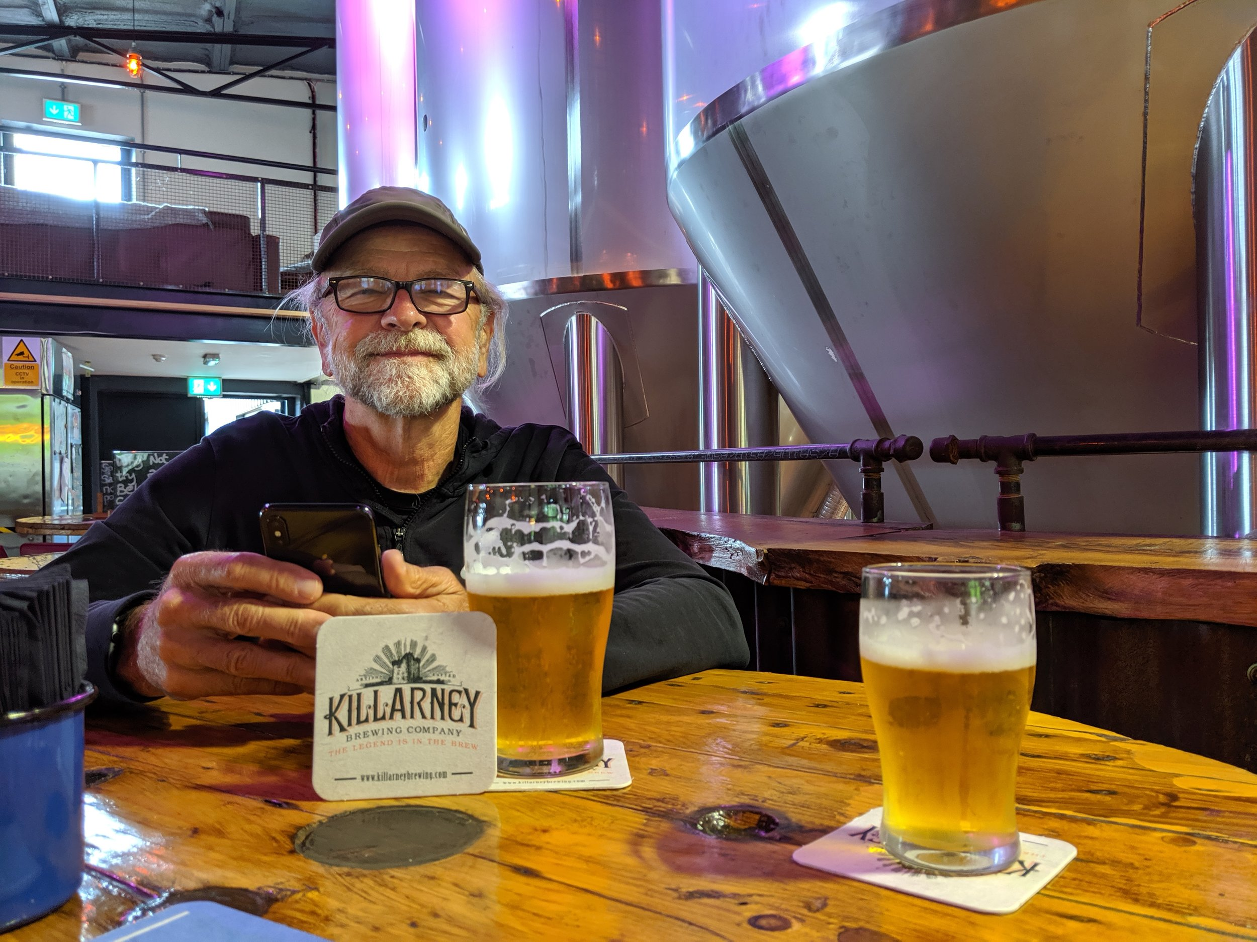 Another brewery that we really liked was a small operation called the Killarney Brewing Company. They brewed an excellent Belgium Ale.