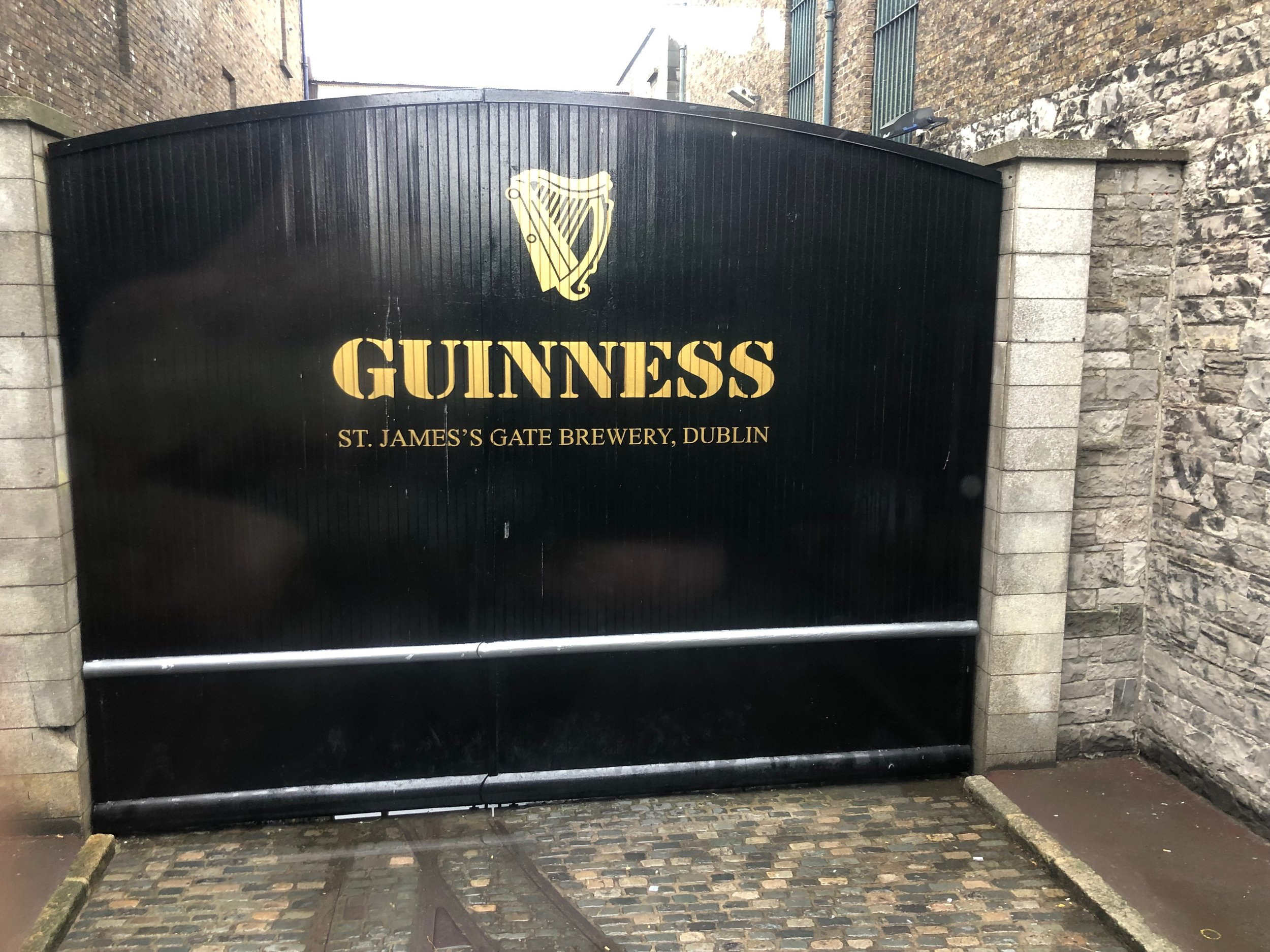 After traveling around Dublin for a few days we finally realized that all roads lead to the St James Gate and the Guinness Brewery. Guinness has been in operation for hundreds of years and been a huge influence on the city and country. If you stop at any pub and ask for a pint, it is understood that you are ordering a pint of Guinness. One morning while we were in Dublin we did the brewery.