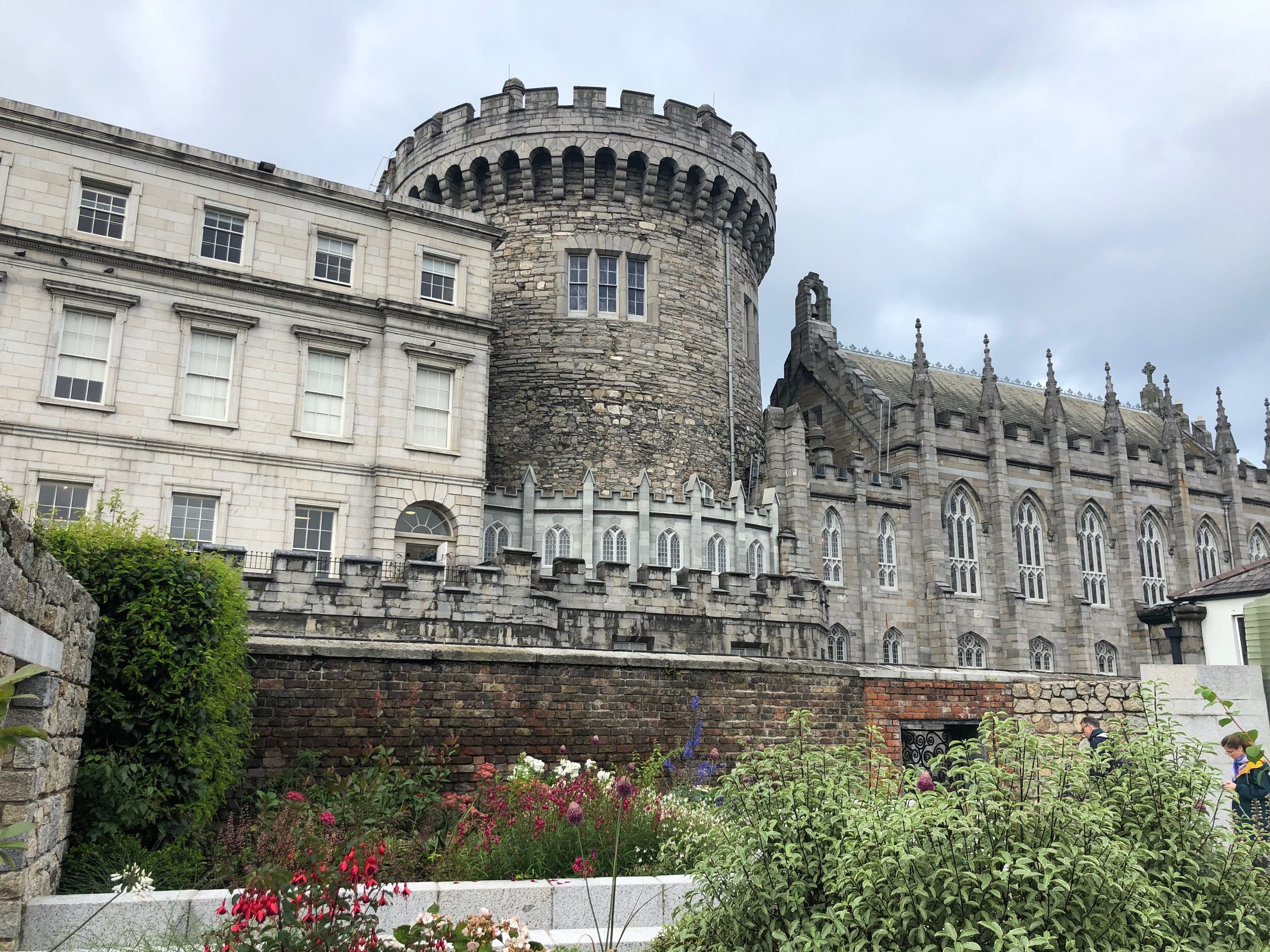 Our first stop in Ireland was Dublin, which is has many old buildings like the one above that have been re-purposed to serve the changing needs of the city. As I recall this castle/cathedral is currently being used for some sort governmental function.