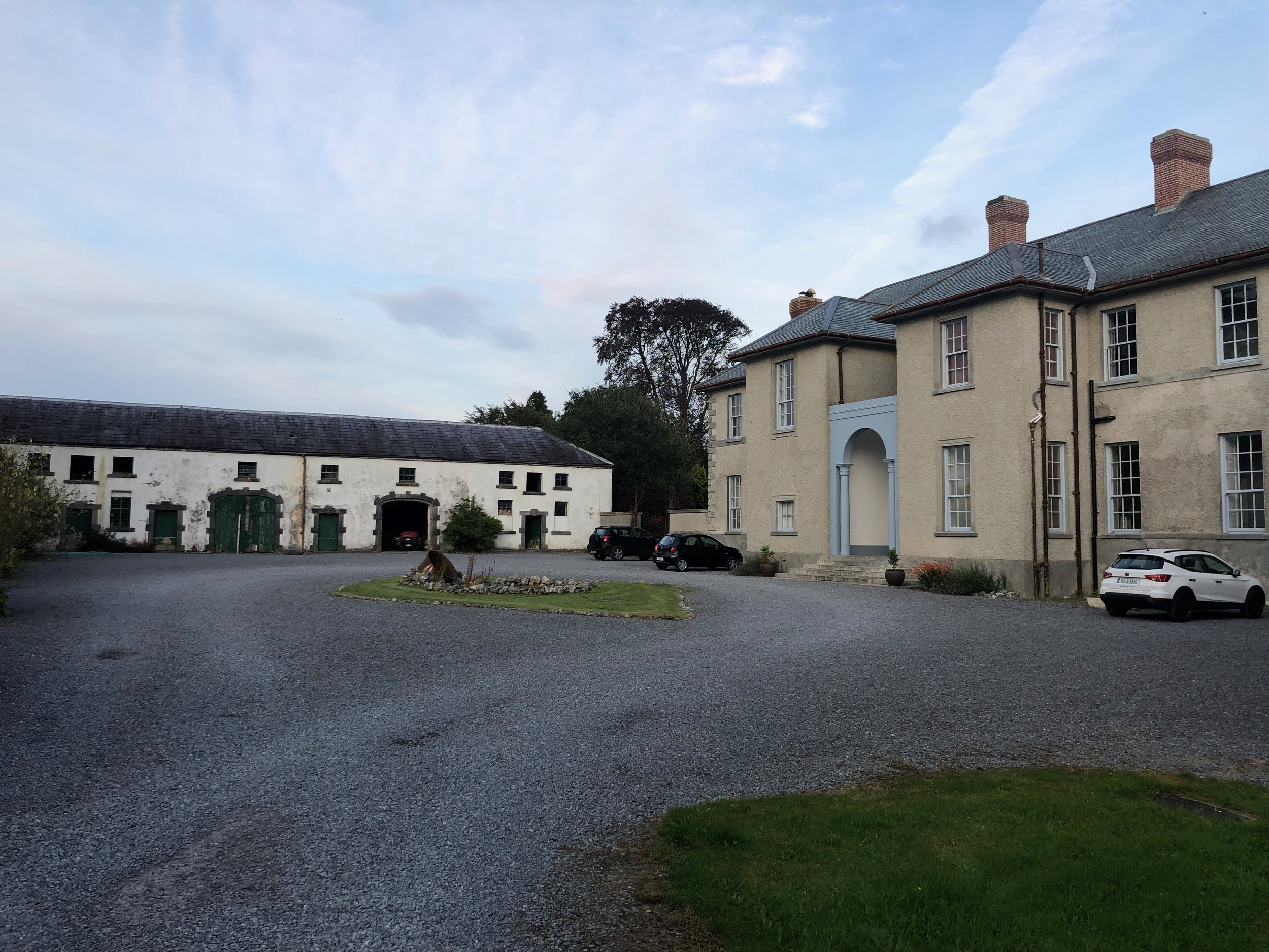 One of the most interesting places we stayed was Castle Hackett located 30-40 miles north of Galway. It was a fantastic place with large beautiful rooms and a friendly hostess who made us feel right at home. The castle was by built in 1703 by an Irishman who was also a General in the British army. One of its claims to fame is an English King once stayed at the castle.