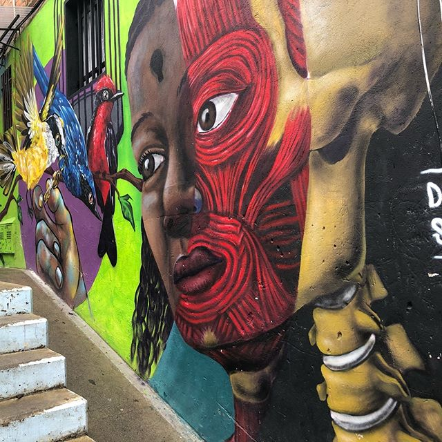 Medellin Colombia, Comuna 13: This district impacted me the most. The transformation, the stories, the history, the learning, the grief, the pride, the art and the heart beat of the community is palpable. ❤️❤️ I found my 🦄🦄 here.