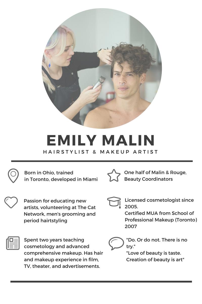 emily malin biography miami makeup artist