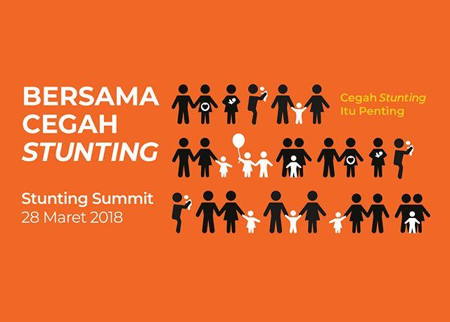 Bappenas akan menyelenggarakan Stunting Summit. Acara yang didukung oleh MCA Indonesia dan IMA World Health akan diadakan pada tanggal 28 Maret 2018 di Hotel Borobudur, Jakarta. Dalam rangkaian Stunting Summit, akan dilaksanakan pula Rembuk Stunting Tahap 2, pada tanggal 26-27 Maret 2018.  Acara ini diikuti oleh kepala daerah dari 100 kabupaten/kota dan juga 31 kabupaten lokasi PKGBM. Peserta lainnya adalah Kepala OPD (Organisasi Perangkat Desa) kabupaten lokasi PKGBM, Kementerian/Lembaga, SUN Global, dunia usaha, akademia, kelompok masyarakat madani, organisasi profesi di bidang kesehatan dan gizi, dan media massa.  Tujuan Stunting Summit ini untuk meningkatkan komitmen kepala daerah terutama pada 100 kab/kota prioritas intervensi penurunan stunting terintegrasi. Juga meningkatkan kemampuan pimpinan OPD di kabupaten/kota dalam merencanakan, melaksanakan, dan melakukan pemantauan dan evaluasi intervensi penurunan stunting terintegrasi. Selain itu, memeroleh informasi praktik baik yang telah ada selama ini dan menyiapkan mekanisme replikasi untuk daerah lain. Meningkatkan keterlibatan pemangku kepentingan (dunia usaha, akademia,  kelompok masyarakat madani, media massa, dan organisasi profesi di bidang kesehatan dan gizi) dalam pelaksanaan perbaikan gizi di daerah.