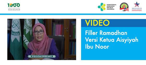 Filler Ramadhan versi Ketua Aisyiyah - Ibu Noor