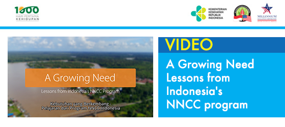 A Growing Need - Lessons from Indonesia's NNCC program