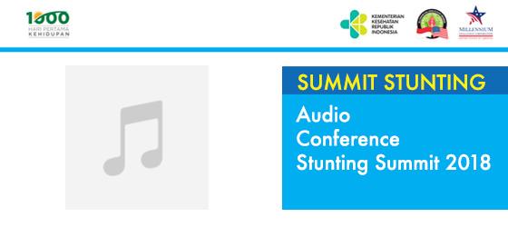 Audio Confrence Stunting Summit 2018