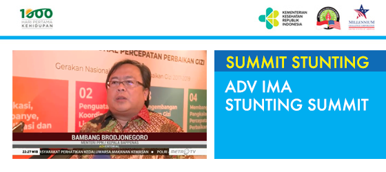 Adv IMA Stunting Summit