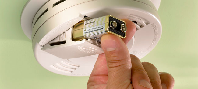 Test your smoke and carbon monoxide detectors -