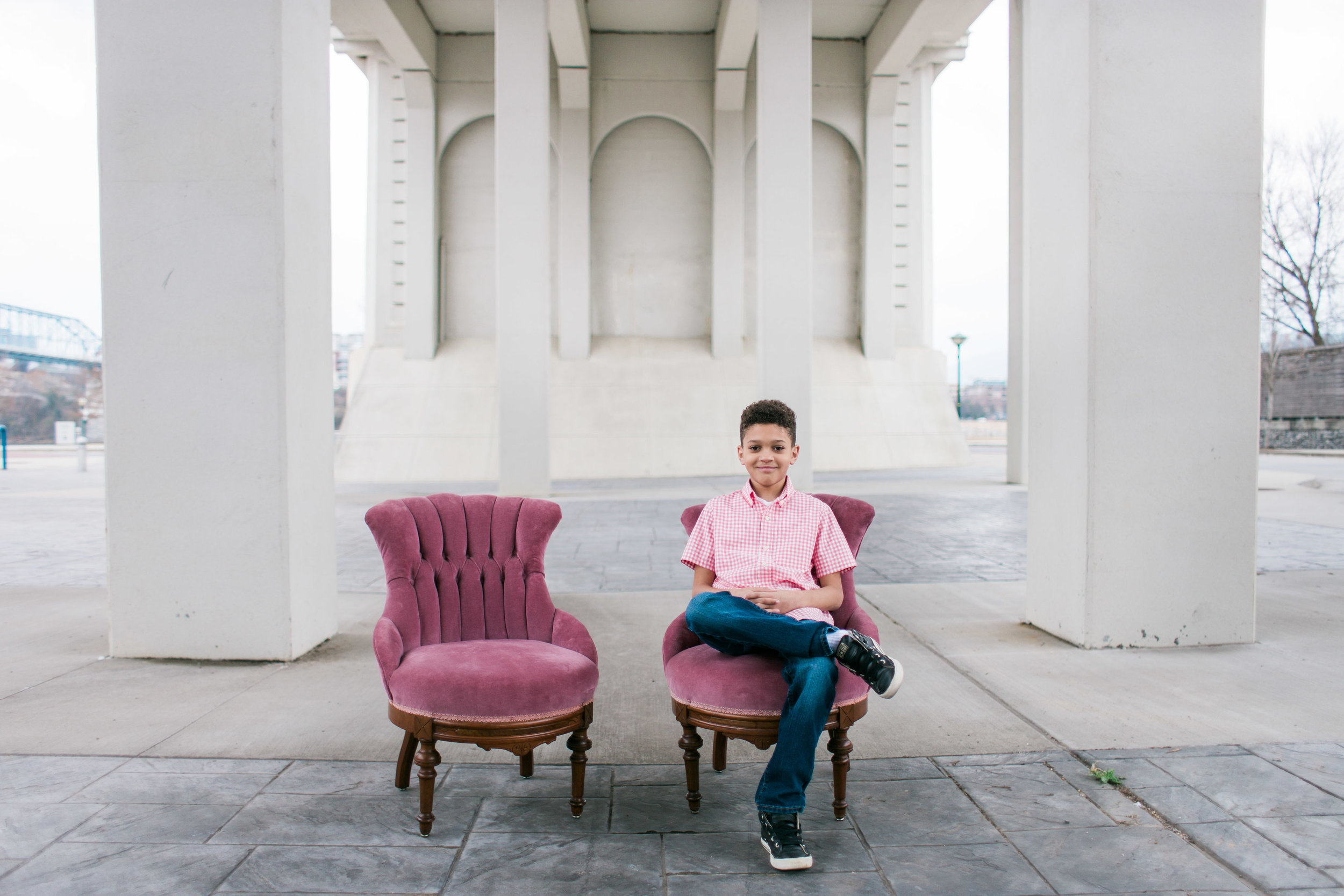 Valentine's Day Shoot with Pink Vintage Chairs