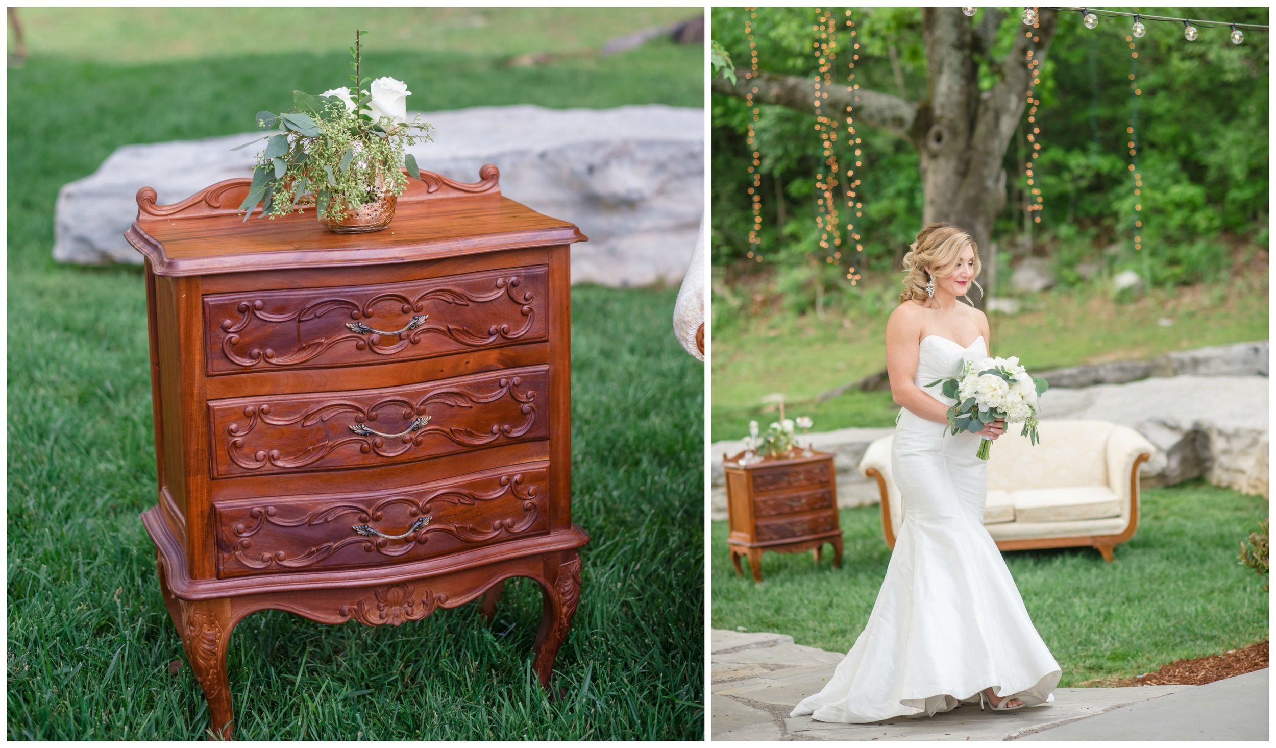 Rochelle Table  and  Felicity Love Seat