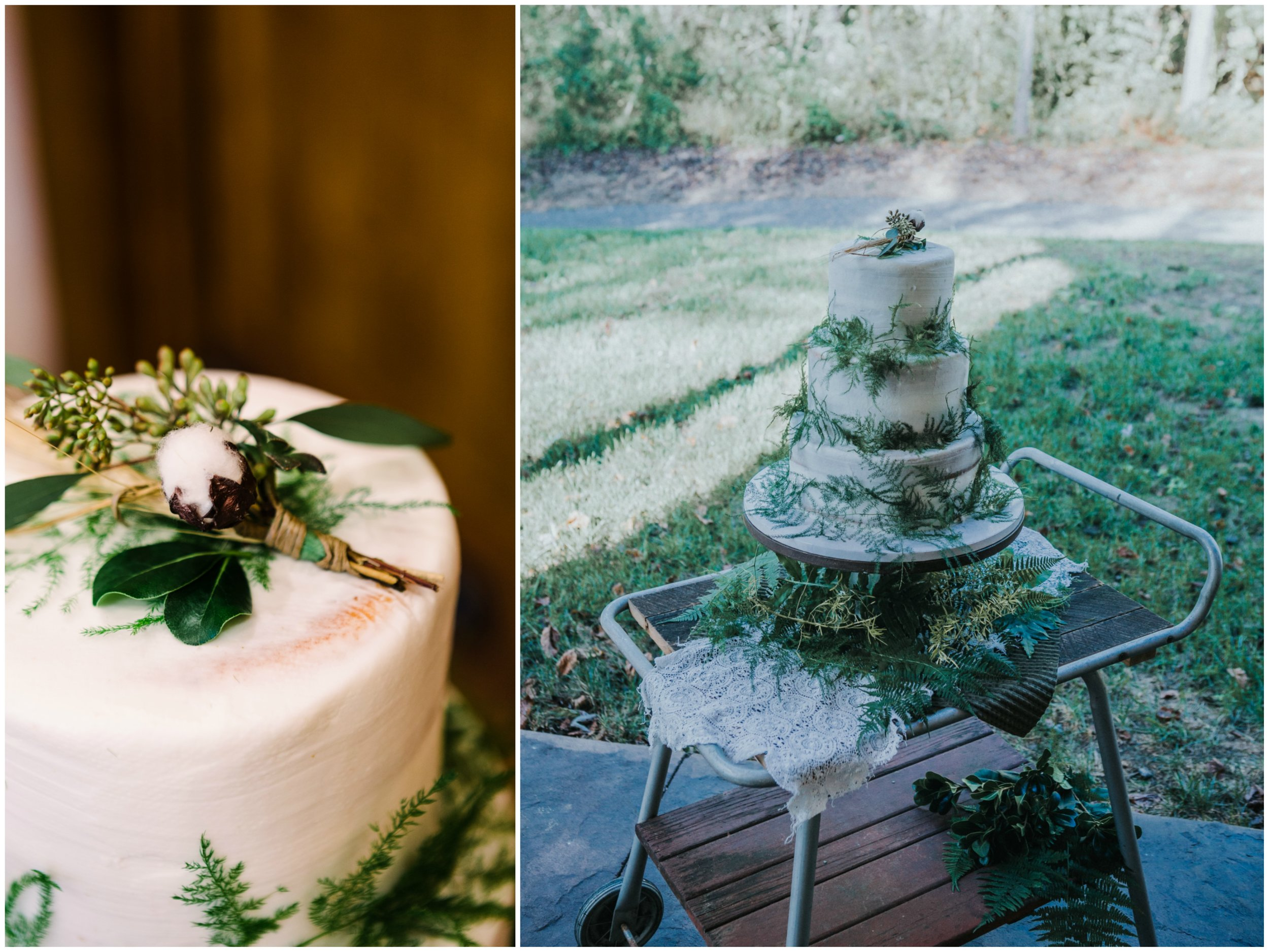 Cake from Bohemian Styled Shoot at Hiwassee River Weddings