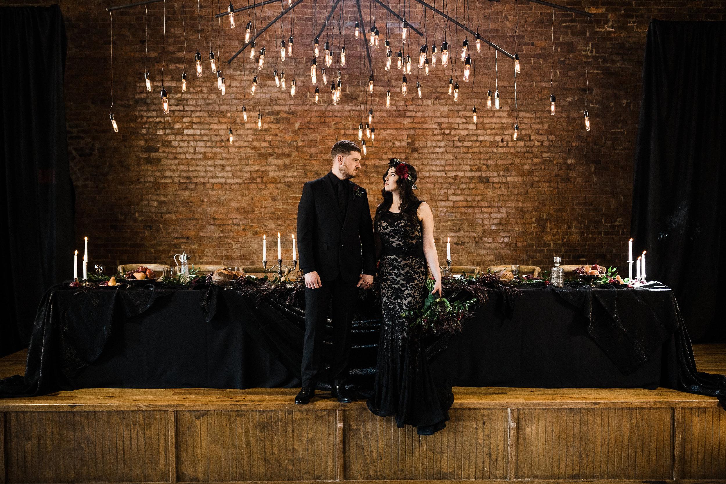 Moody Wedding Inspiration at The Church on Main