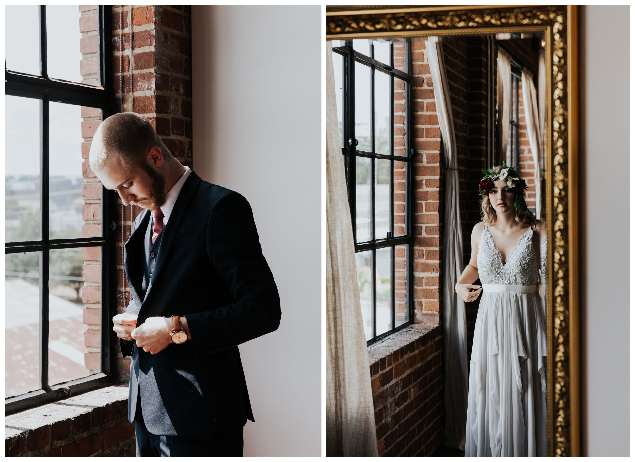 Kiersten & Matt's Urban Bohemian Wedding at The Turnbull