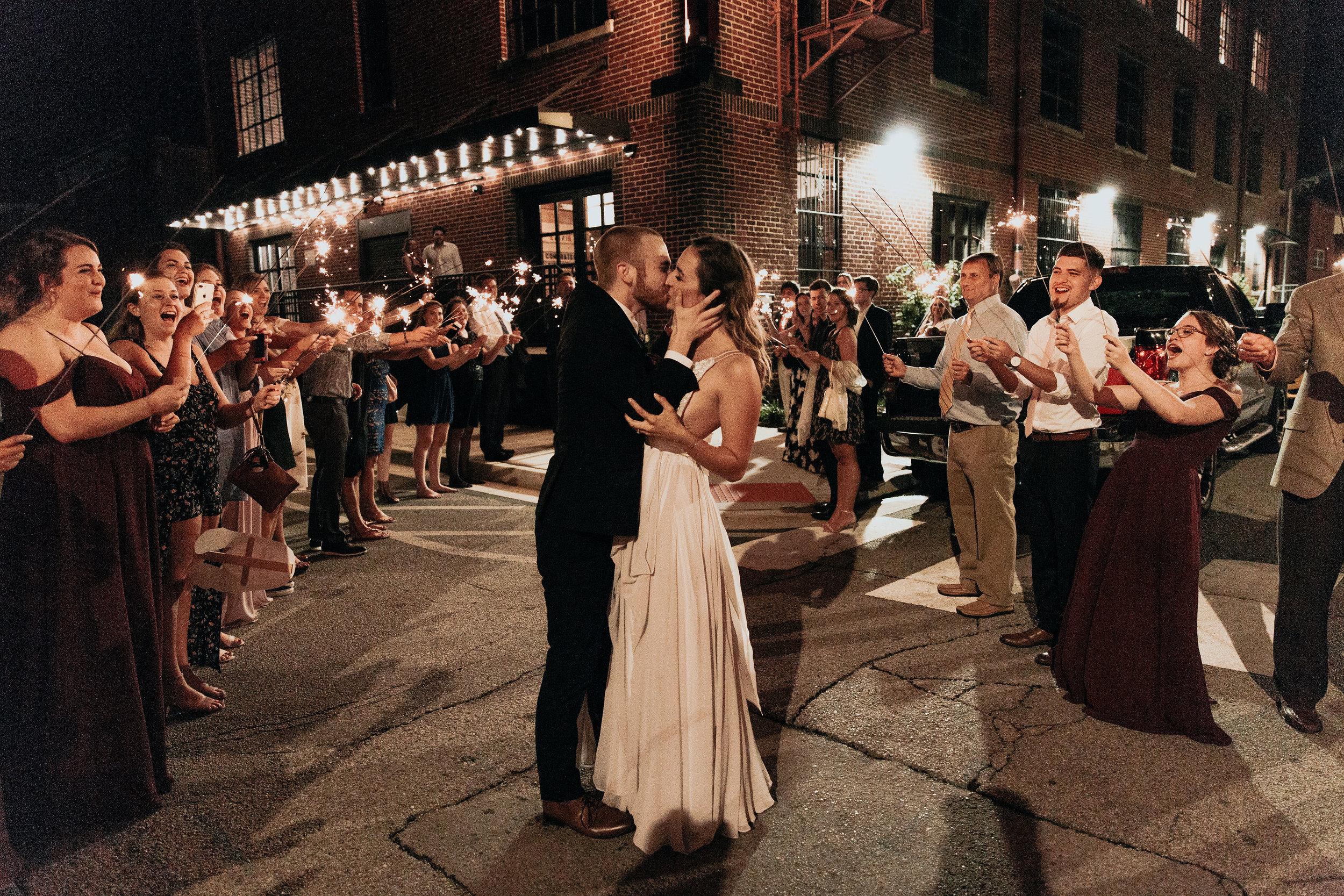 Kiersten + Matt's Urban Bohemian Wedding at The Turnbull