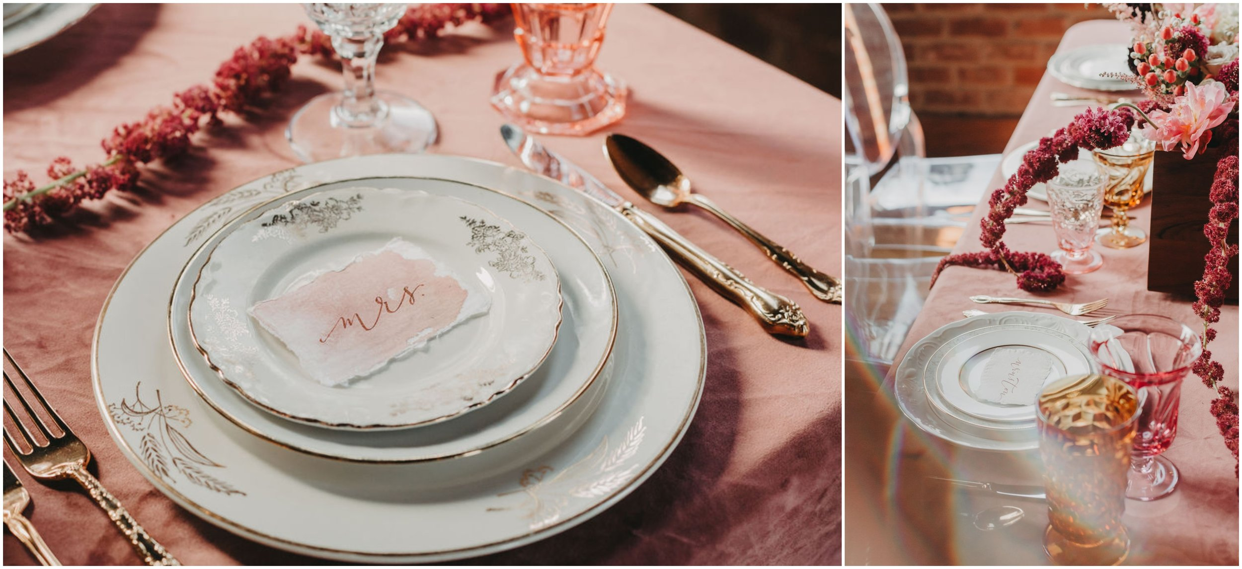 Velvety Pink Wedding Inspiration at The Church on Main