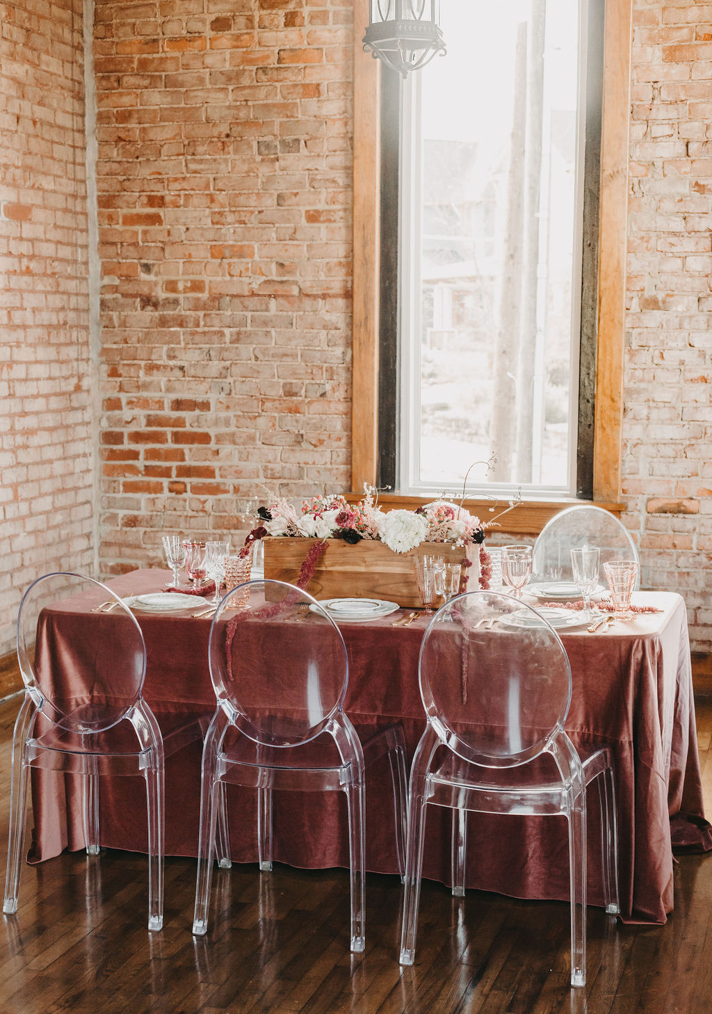 VELVETY PINK WEDDING INSPIRATION AT THE CHURCH ON MAIN -
