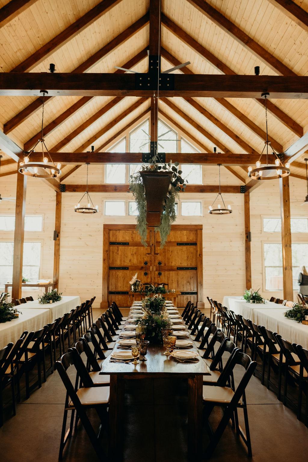 Bohemian Head Table at Hiwassee River Weddings