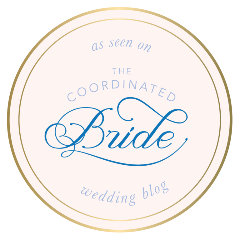 The Copper Quail Featured on The Coordinated Bride