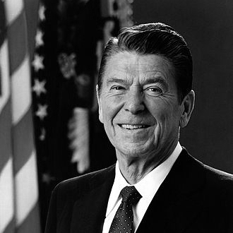 Ronald Reagan, United States President, 1981-1989