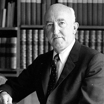 William M. Allen, president of Boeing