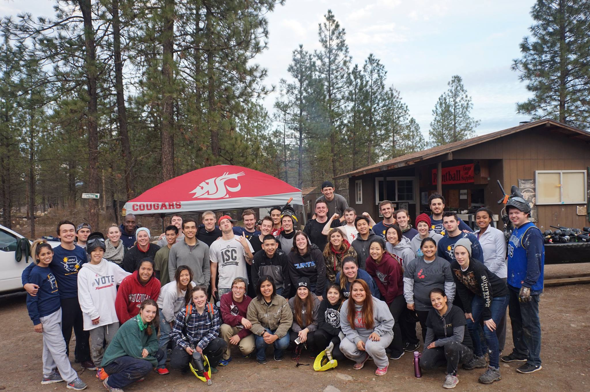 2016 Paintball and Camp Trip
