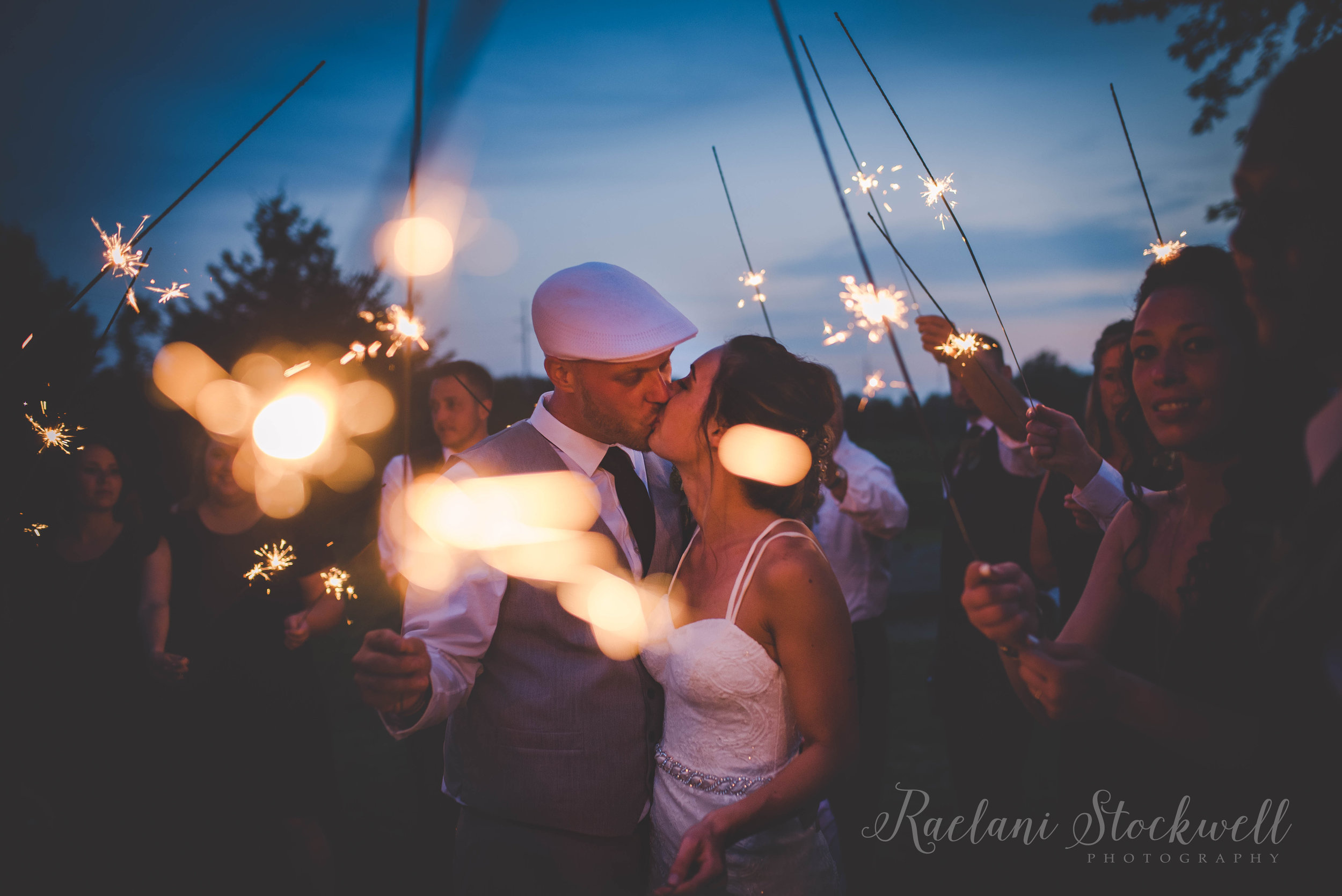 Country Chic Wedding in Marlette Michigan.
